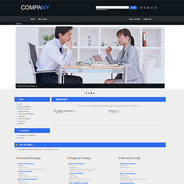 Free Website Templates - phpLD templates and phpmydirectory templates